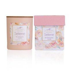 Eνυδατικό, αρωματικό κερί με άρωμα σανταλόξυλο και αλμυρή καραμέλα -Selene soya candle