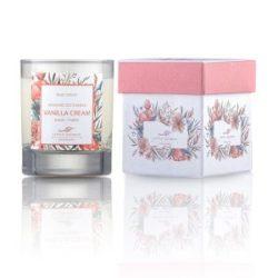 Eνυδατικό, αρωματικό κερί με άρωμα βανίλιας - Vanilla soya candle
